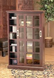 Bookshelves Cherry - glass door bookshelves cherry bookcase with leaded glass doors and