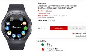 best deals on fitbits on black friday best 5 cyber monday wearable deals gear s3 fitbit and more