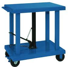 wesco and lexco hydraulic lift tables