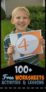 free 4th grade worksheets u0026 activities