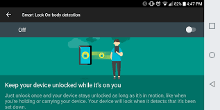 smart lock android how to use android s smart lock to disable screen locking features