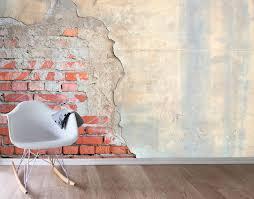 designer wall exposed brick wall mural your decal shop nz designer wall art brick
