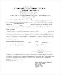 affidavit letter format affidavit letter format