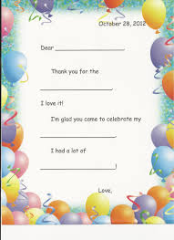 kids birthday thank you ideas 47 best kids birthday thank you
