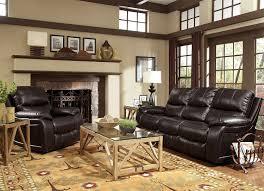 Flexsteel Upholstery Fabric Kimberlee Reclining Sofa Dark Brown Levin Furniture