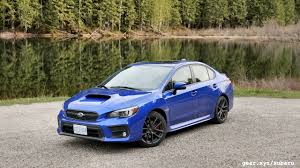 yellow subaru wrx 2018 subaru wrx and wrx sti first drive one two turbocharged