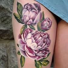 Pretty Flowers For Tattoos - best 25 no outline tattoo ideas on pinterest flower outline