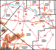Tx Counties Map Tha Alterna Page Image Gallery Pecos County Texas