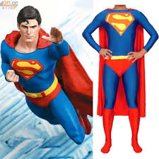 Quality Mens Halloween Costumes Wholesale Childrens Mens Halloween Cosplay Superman Costumes