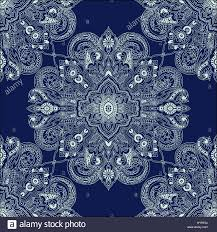 abstract circular paisley pattern traditional oriental geometric