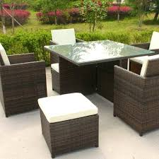 Wholesale Patio Furniture Sets Outdoor Furniture Set Square Outdoor Setting 7 Patio Furniture