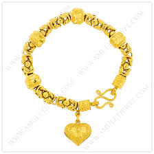 chain bracelet with heart charm images Gold heart charm bracelets elegant gold bracelets byzantine jpg