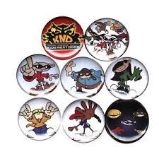 codename kids door 8 buttons pins badges birthday