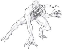 venom spiderman enemy coloring pages printable womanmate