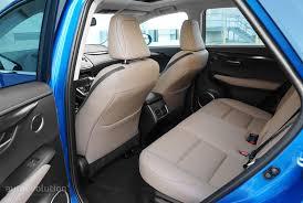 lexus nx interior back seat driven 2016 lexus nx 200t autoevolution