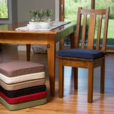 indoor dining room chair cushions how to choose dining chair cushions with ties in indoor idea 5