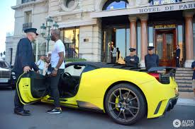 mansory cars samuel eto u0027o u0026 stephen appiah spotted in monaco with 458 based