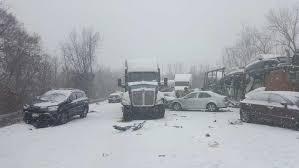 massive car pileup on slick road closes i 91 connecticut post