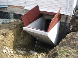precast basement entrance u0026 egress hampton concrete products