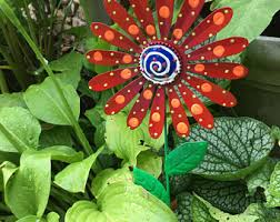 metal garden art etsy