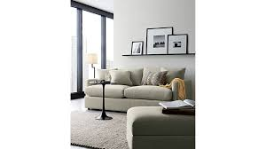 Crate And Barrel Sofa Cushion Replacement Lounge Ii 83