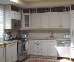 above kitchen cabinet kitchen beach style with neutral electric