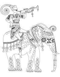 india south africa coloriage de éléphant india