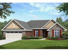 1 story houses 061h 0175 traditional one story house plan 2561 sf traditional