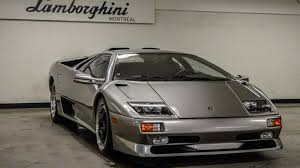 used lamborghini diablo pristine lamborghini diablo sv with 1 1 miles for sale