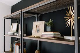 Bookcase In Wall Styling A Bookcase In Three Easy Steps To Add Character To Any Room