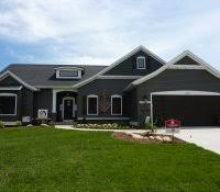 light grey house with white trim exterior color schemes paint