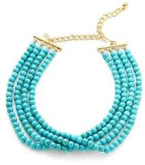 long turquoise necklace images Turquoise beaded necklace shopstyle jpg