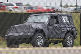 wrangler jeep 2 door 2018 jeep wrangler jl 2 door spied zf 8 speed auto and other