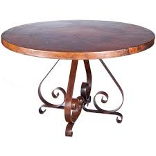 dining tables copper top dining table care copper wax polish