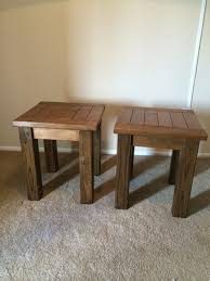 coffee table best 25 diy end tables ideas on pinterest pallet
