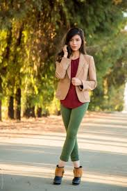 an easy u0026 stylish fall for weekend green skirt