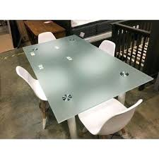 frosted tempered glass table top glass desk top china frosted glass table tops acid etched glass