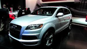 Audi Q7 2013 - 2012 audi q7 tdi s line exterior and interior at 2012 new york