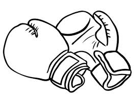boxing coloring pges all coloring pages