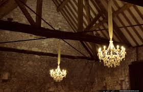 Wedding Chandeliers White Chandeliers For A Barn Wedding