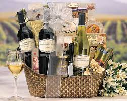 top birthday wine gift basket50th birthday gift ideas for 50th
