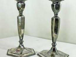Mercury Glass Home Decor Tall Mercury Glass Pillar Candle Holders Crustpizza Decor
