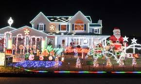 houses with christmas lights near me share the best holiday lights displays on long island long island