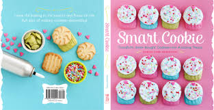 smart cookie book flower cookies from the oven