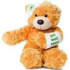 get well soon teddy get well soon teddy bonnie beige get well gift