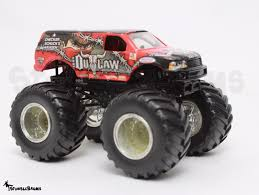 outlaw monster truck show wheels monster jam truck iron outlaw metal base die cast 1 64