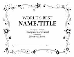 award templates for word certificates officecom award