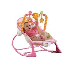 Infant Rocking Chair Fisher Price Infant To Toddler Rocker Sleeper Pink Bunny Pattern