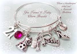 bracelet gift images 21st birthday gift 21st birthday charm bracelet gift idea jpg