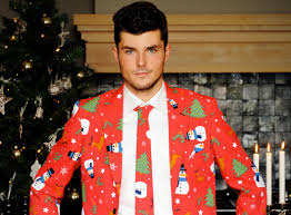 christmas suit total frat move for when a tacky sweater just doesn t cut it get